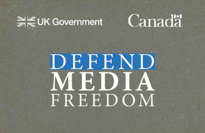 The Global Conference for Media Freedom